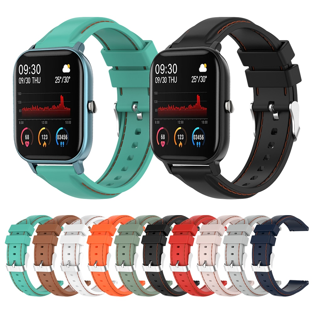 Replacement Strap For COLMI P8 Smart Watch Silicone Band For COLMI P8 Pro Wristband Watchband Bracelet Belt Accessories