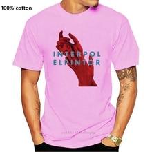 Nouvelle annonce Interpol Elpintor groupe de Rock hommes noir T-Shirt taille S à 3XL 100% coton