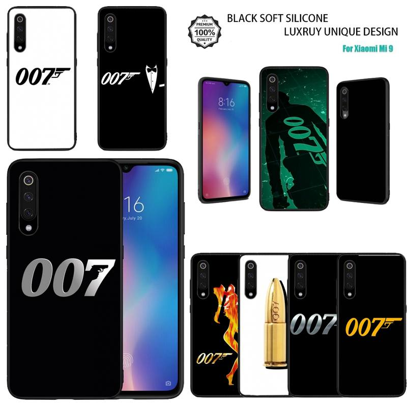 Movies James Bond 007 Phone Case For Redmi Note 9S 9 Back Cover For Xiaomi Mi 9 9SE 10 A3 Note 10 Lite Soft Silicon TPU