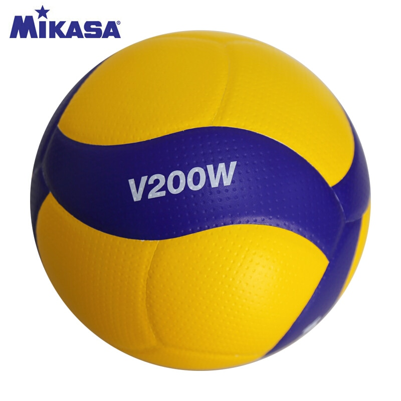 Original Mikasa Volleyball V200W FIVB Official Game Ball for The FIVB World Cup in 2019 FIVB Approve Official Volleyball