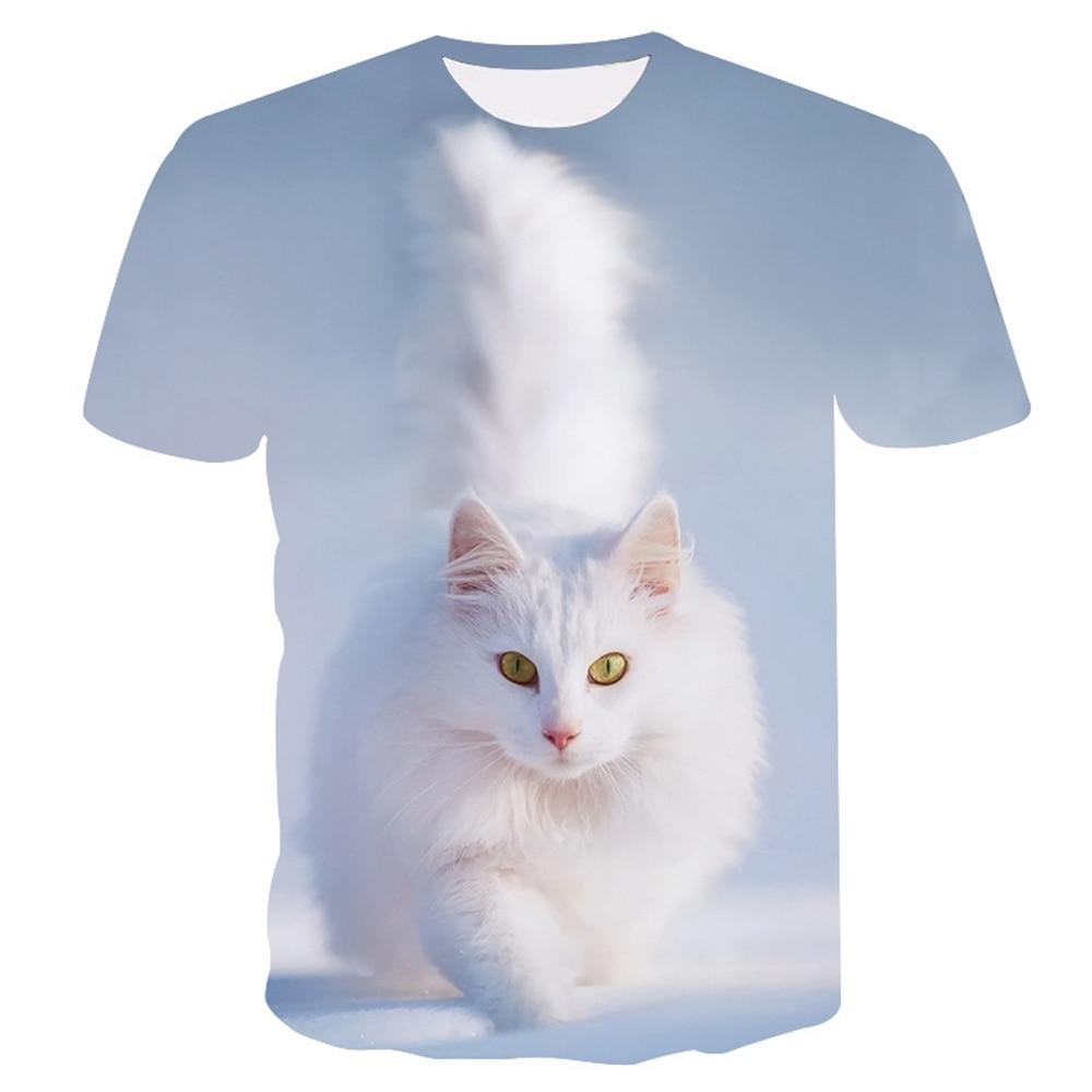 3D cat Print T shirt Lady Harajuku Women T-Shirt Summer Short sleeve Casual Round neck Tops Tees Girls Cheap Clothes Cat T-shirt женская футболка 2015 cat 3d t 1983