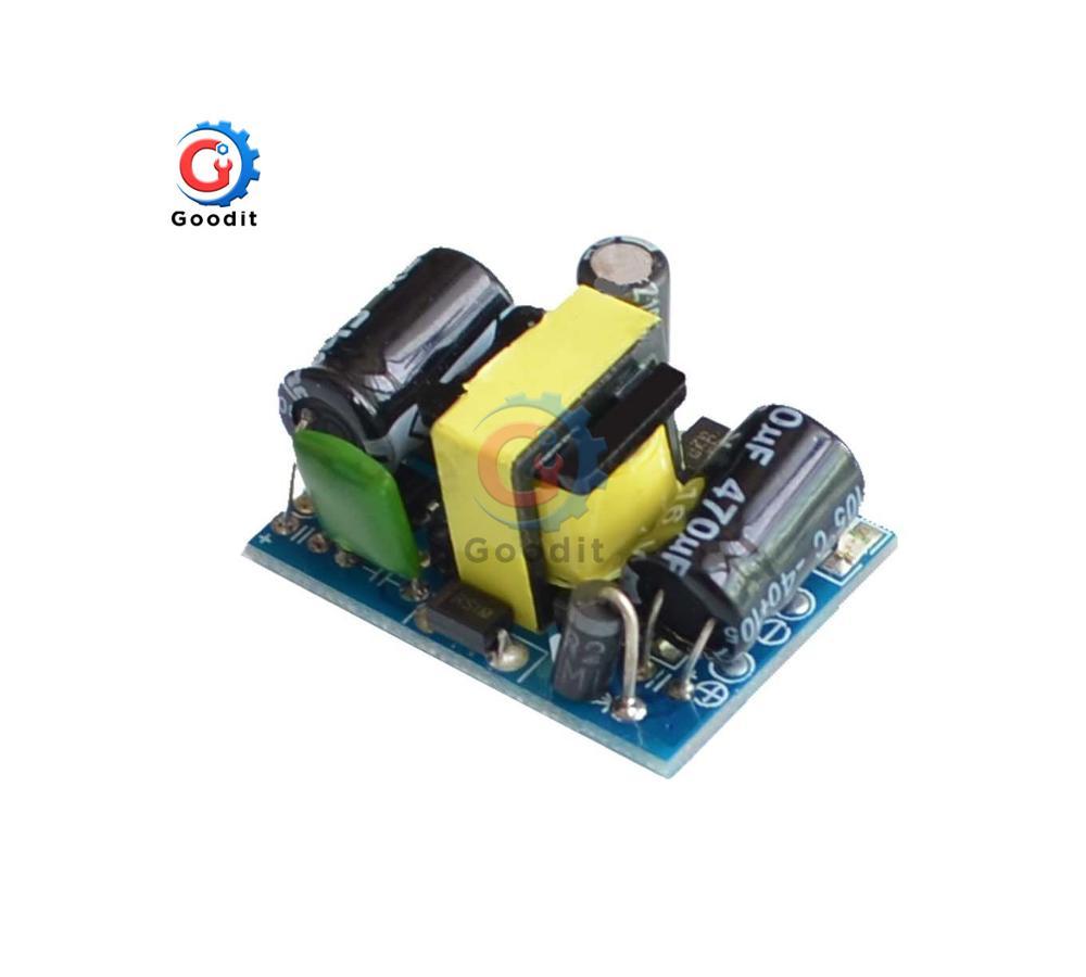 AC-DC-convertidor Buck de precisión de 12V, 400mA, 12V, 450mA, 4,5 W, CA de 220V a 5V CC, módulo de fuente de alimentación de transformador reductor