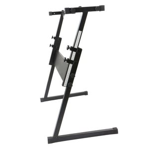 【US Warehouse】Glarry Z-Shape Adjustable Electric Piano Rack Stand