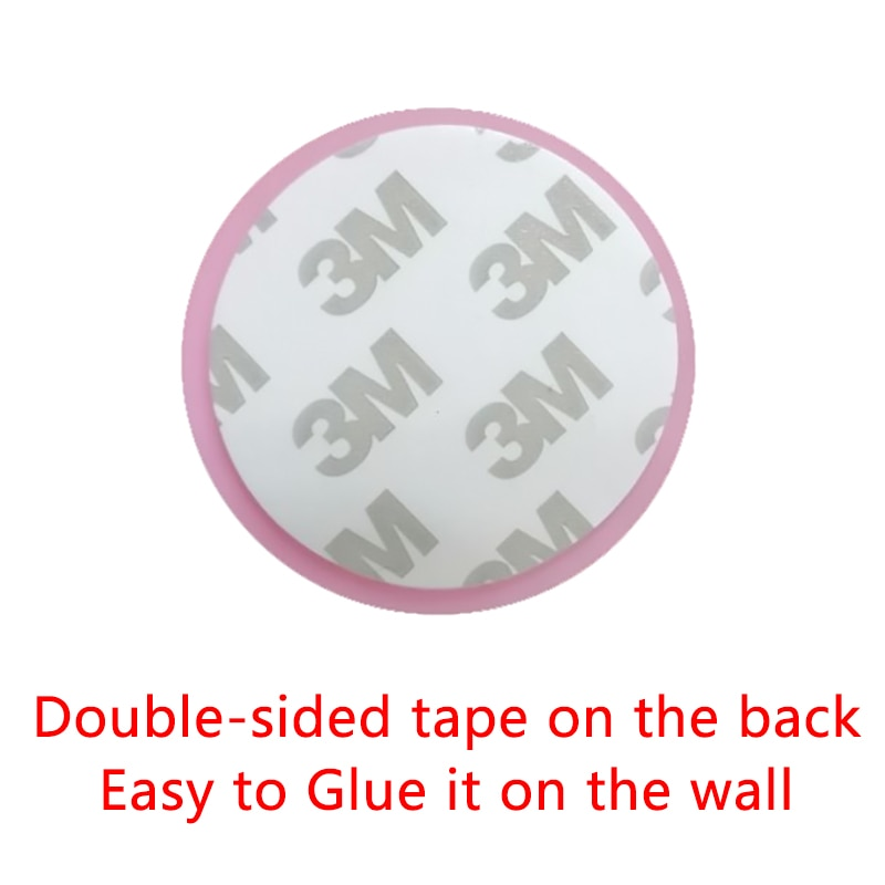 Soft Thickening Mute Rubber Pad To Protect The Wall Self Adhesive Stickers Door Stopper Golf Style Door Fender Home Products  - buy with discount