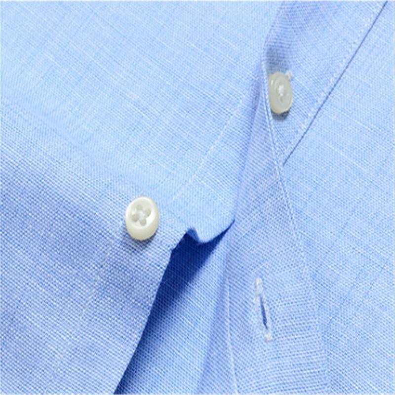 2020 New Men Solid Color Casual Cotton And Linen Long Sleeve Shirt Blusas Blouse Camisa Bluzki Bluzka Vestidos Casuales Koszula