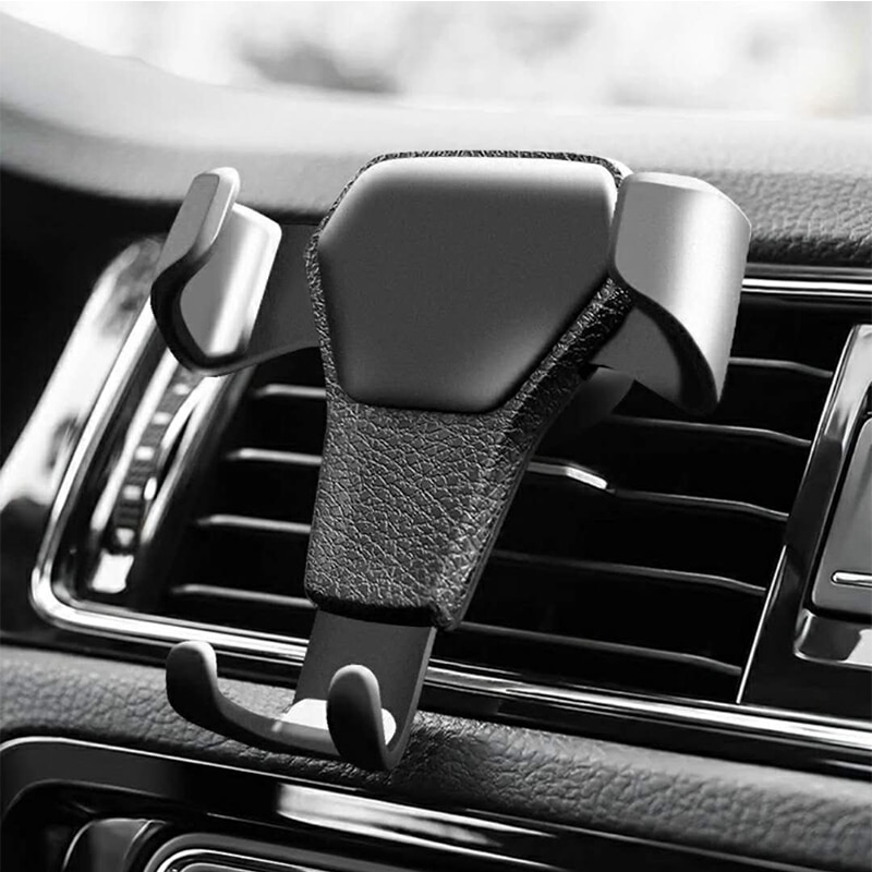 AliExpress - Universal Gravity Auto Phone Holder Car Air Vent Clip Mount Mobile Phone Holder CellPhone Stand Support For iPhone For Samsung