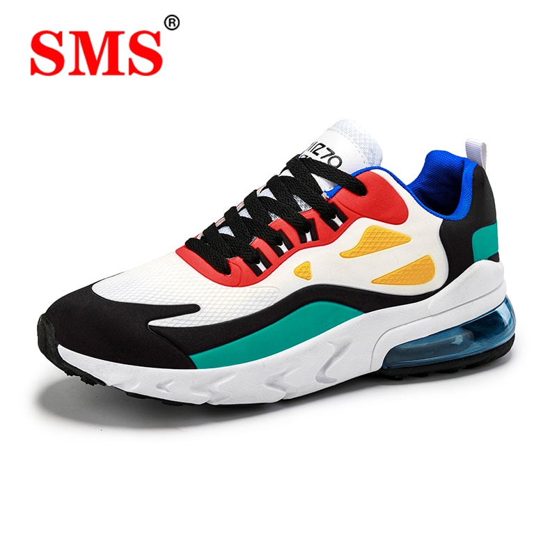 SMS Mens Casual Shoes Fashion Male Sneakers Breathable Sports Running Shoes Mesh Tenis Masculino Men Shoes Zapatillas Hombre