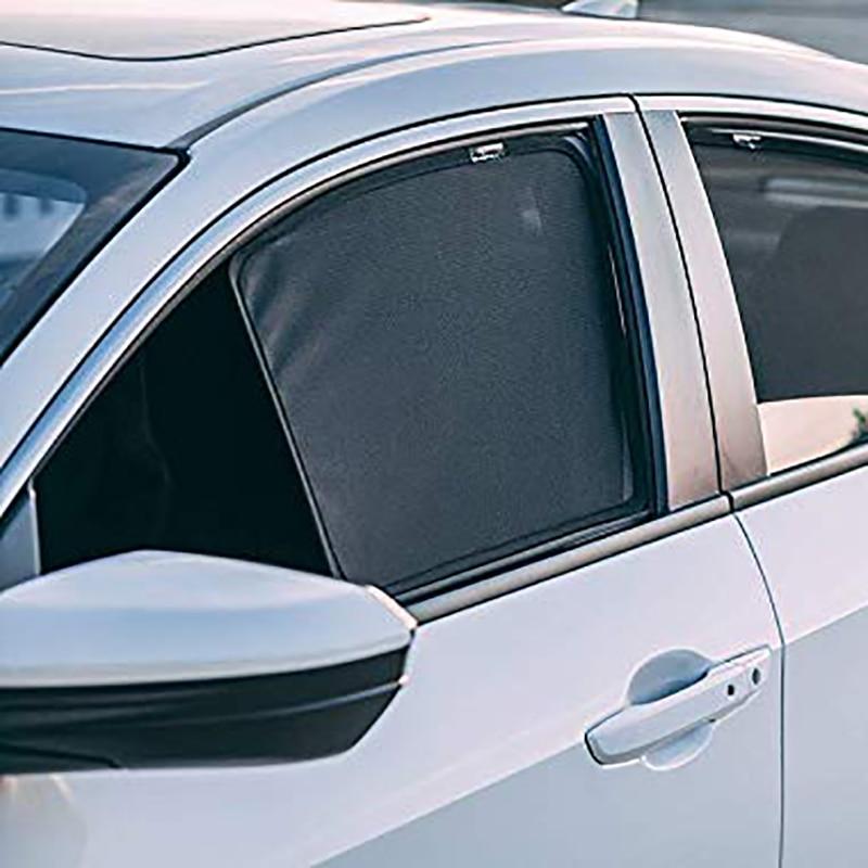 For Nissan SERENA C24 1999-2005 Window Sunshades Removable Foldable Darkening Mesh Easy Installment Car Sun Visor