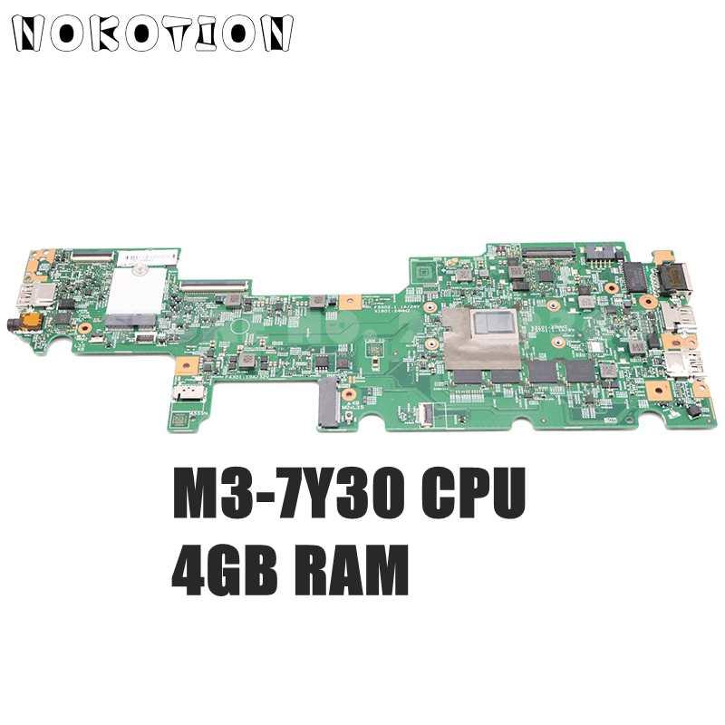 NOKOTION لينوفو ثينك باد اليوغا 11E اللوحة الأم للكمبيوتر المحمول M3-7Y30 وحدة المعالجة المركزية 4G RAM 17873-1 LLA-1.5 MB 448.0DA22.0011 FRU 02DC042
