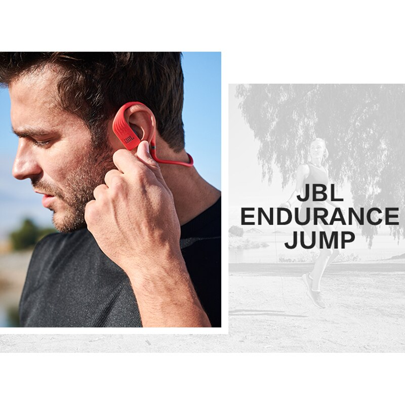 Original JBL Endurance Jump Wireless in-Ear Sport Headset with One-Button Mic/Remote IPX7 waterproof Prevent falling Headphones enlarge
