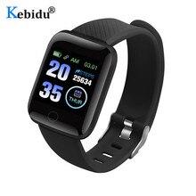 KEBIDU Waterproof Sport SmartWatch Heart Rate Monitor Sleep Step Tracker Smart Bracelet GPS Smart Watch For Android IOS