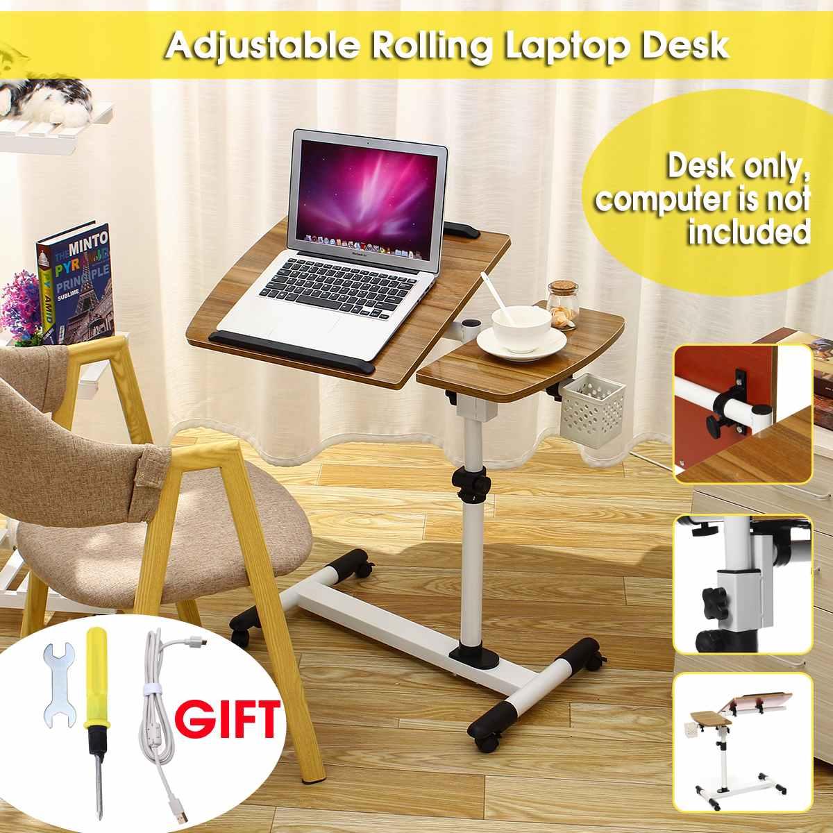 الخشب قابل للتعديل زاوية الارتفاع المتداول مكتب للحاسوب شخصي حامل دفاتر الملاحظات على أريكة تتحول لسرير الجدول مكتب الكمبيوتر المنقولة