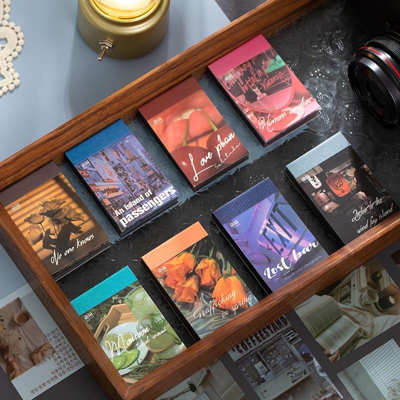60 листов, наклейка-книжка для скрапбукинга, журнала, дневника книжка наклейка время