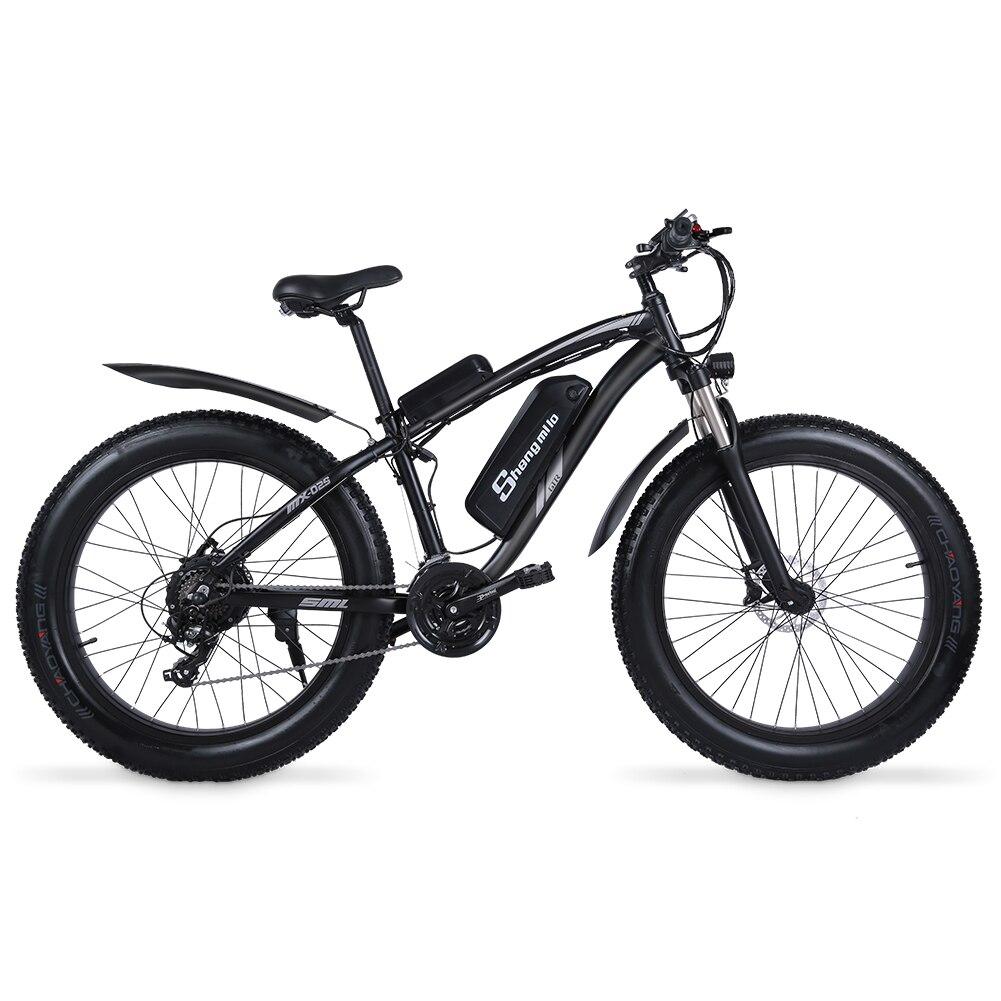 electric bike ebike 1000w electric mountain bike 4 0 fat tire electric bicycle beach 48v25ah e bike electric Electric Bicycle 1000W High-End Configuration Men's Bicicleta 26Inch Bicicletta Elettrica 48V17AH Accu Ebike MX02S Mountain Bike