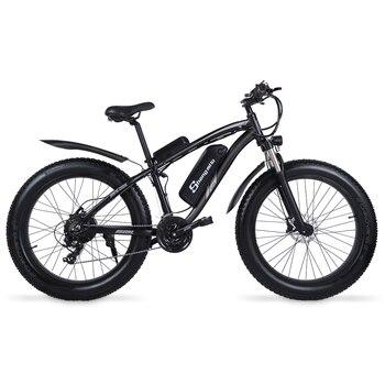 Electric Mountain Bike 1000W Motor 26 Inch Men's Bicycle City Cycling Bicicleta 4.0 Fat Tire Big Wheel Ebike 48V MX02S High-End
