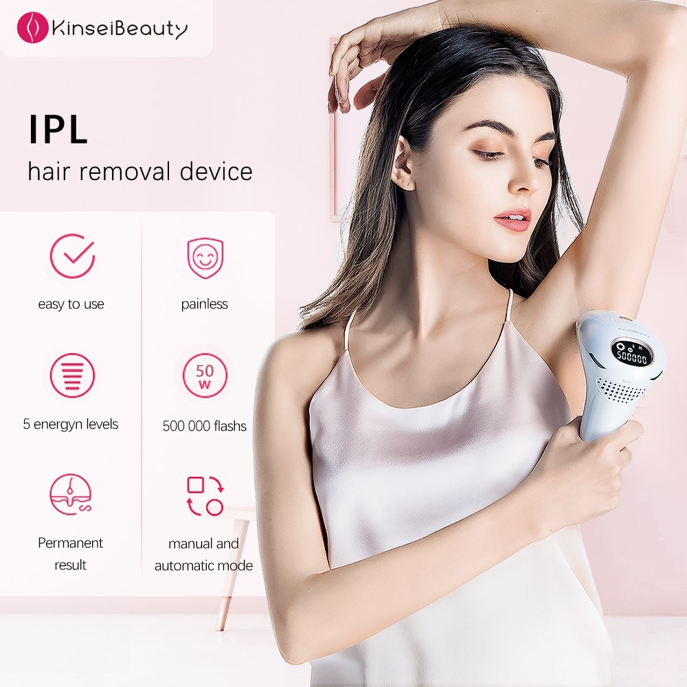 Epilator a Laser IPL Hair Removal Electric Epilator 3 in1 Hair Removal Permanent for Women Depilation الليز Hair Removal Machine enlarge