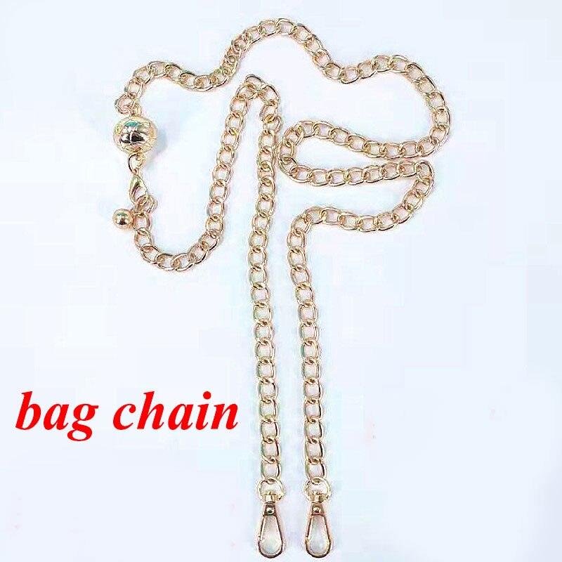 Аксессуары для сумок, цепочки для сумок, золотистый ремень, фурнитура для сумок, аксессуар, металлическая цепочка для сумок, ремешок для жен...