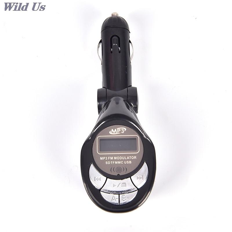 1pc Car MP3 Music Player Latest Styles USB SD CD MMC Remote XRC Car Styling MP3 Player Wireless FM Transmitter Modulator