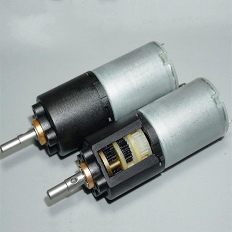 Micro Mini 24mm Planeten Getriebe Motor 280 DC 3V 5V 6V 28RPM Langsam Geschwindigkeit Drei bühne Planeten Getriebe Motor