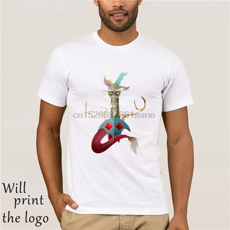 Camiseta My Little Discord, camiseta de manga corta 100 algodón, camiseta de gran tamaño para hombres, camiseta informal con estampado impresionante