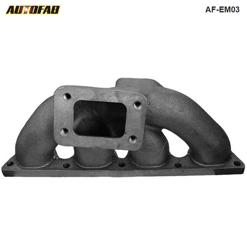 Colector Turbo de hierro fundido T3 para Acura Integra CRX 92-00 B16 B18B Series AF-EM03