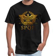 Printed SPQR Senātus Populusque Rōmānus ricky and morty t shirt men and women simpsons tshirt s-5xl hiphop