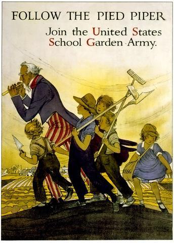 Siga o pied piper história wwi ww1 cartaz de propaganda vintage retro lona diy adesivos de parede para casa cartazes arte barra decoração