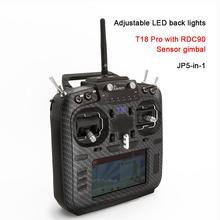 Jumper T18 Pro Radio Fernbedienung JP5-in-1 RDC90 Sensor Multi-protokoll RF Modul OpenTX (T18 Mit Halle Gimbals)