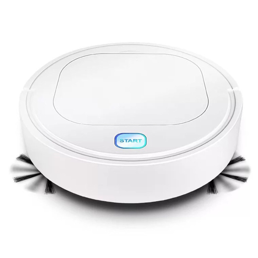 Multifunctional Robot Vacuum Cleaner USB Rechargeable 1800Pa Smart Sweeping Robot Dry Wet Sweeping Vacuum Cleaner for Home Floor robot vacuum cleaner 4 in 1 auto rechargeable smart sweeping robot dry wet sweeping vacuum cleaner disinfection home