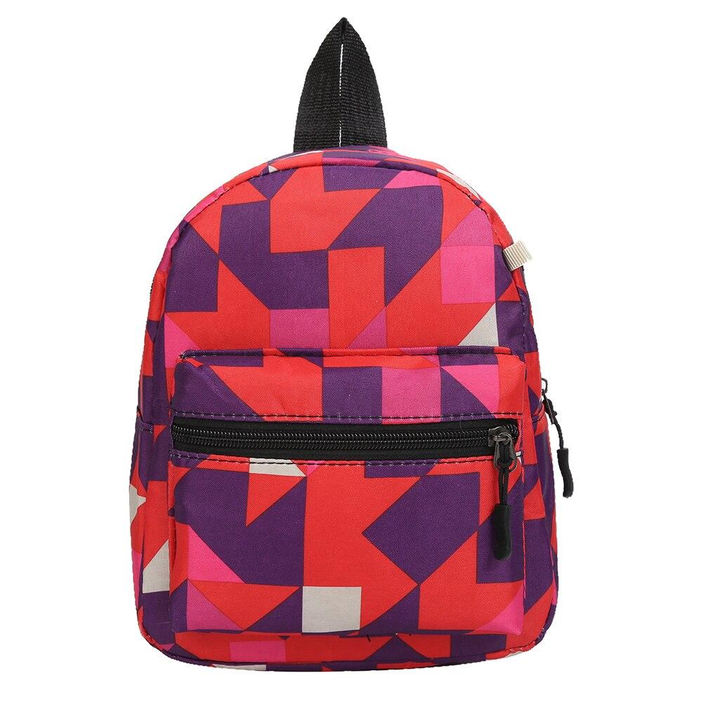 AliExpress - 2021 New Fashion Children Knapsack Starry Sky Geometry School Students Bag Canvas Geometric Printing Backpack Preppy Style