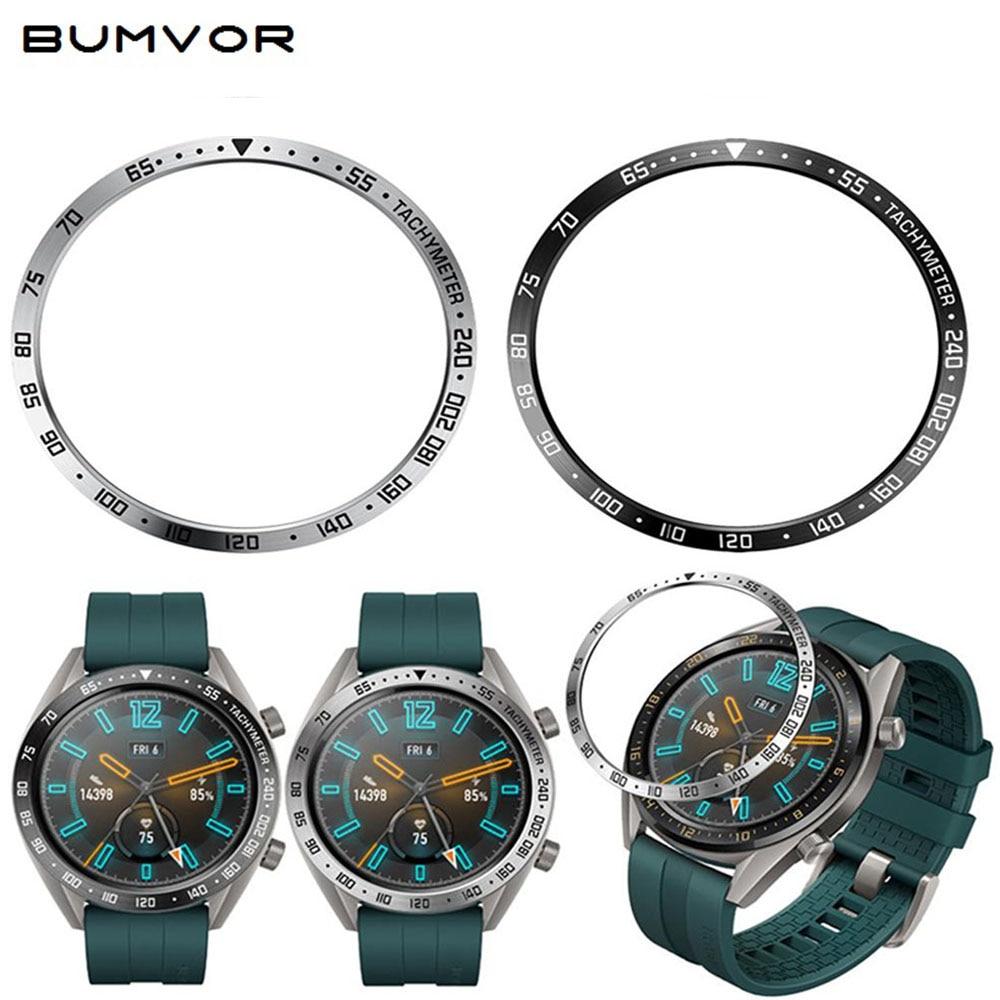 Marco de anillo de carcasa de metal para Samsung Galaxy Watch, carcasa...