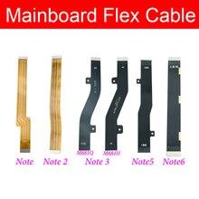 Placa base placa principal flexible Cable para Meizu M1 M2 M3 M5 M6 nota placa base pantalla LCD Flex Cable de cinta reemplazo reparar partes