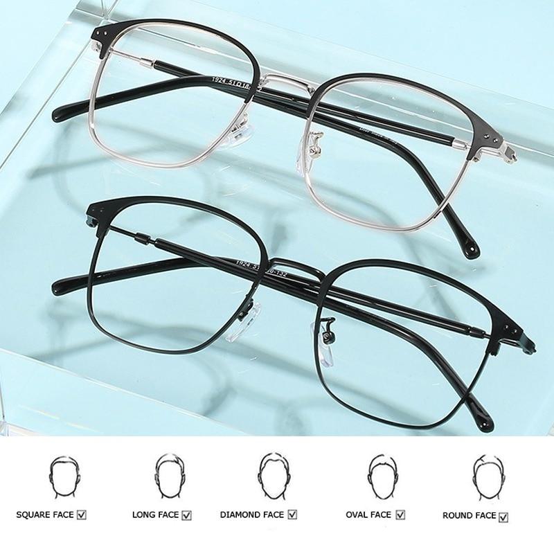 New Fashion Photochromic Glasses Women Man Polarized Driving Glasses Anti Blue Light Glasses Optical