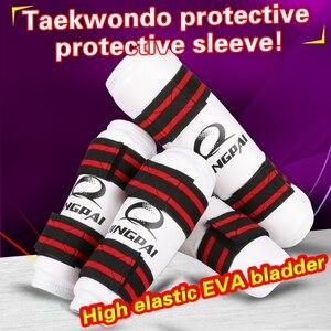 GINGPAI Taekwondo Protective Gear High Quality Shin Guard 2 Pieces/4 Pieces Taekwondo Arm Guard Leg Guard Taekwondo Ankle Guard