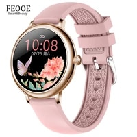 feooe lady girl smartwatch clock pedometer sports tracking watches for android ios relogio smart watch wearable devices yd