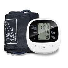 Автоматический цифровой тонометр, монитор артериального давления на руку, пульсометр и тонометр, сфигмоманометры