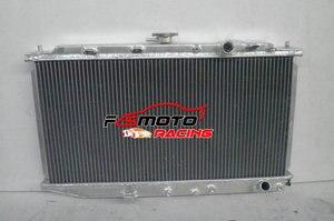 Aluminum Radiator For 1988-1991 91 90 89 88 Honda Civic CRX CR-X 1.5L 1.6L MT Manual