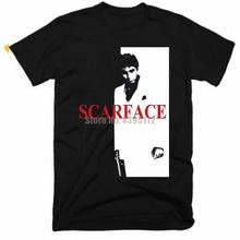 Scarface film Homme T-Shirts Hip Hop vêtements T-Shirts 3D impression t-shirt O cou T-Shirts hauts pour hommes