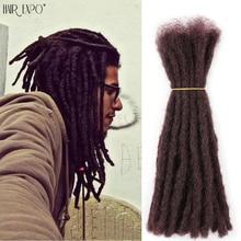 Parrucche sintetiche fatte a mano in puro colore sintetico Dreadlocks trecce per capelli estensione all'uncinetto Reggae per donne nere o uomini capelli Expo