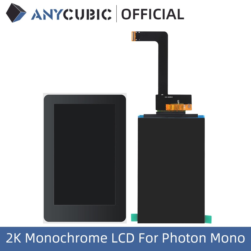 ANYCUBIC 6 inch 2K Monochrome LCD Screen For Photon Mono 3D Printer 2K Lcd Screen
