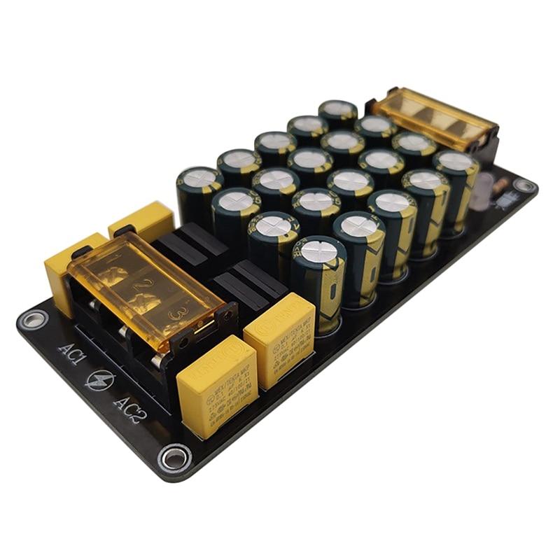 Dual Power Rectifier Filter Module 6A X2 Power Amplifier Board 2X300W for Power Amplifier Rectifier Filter