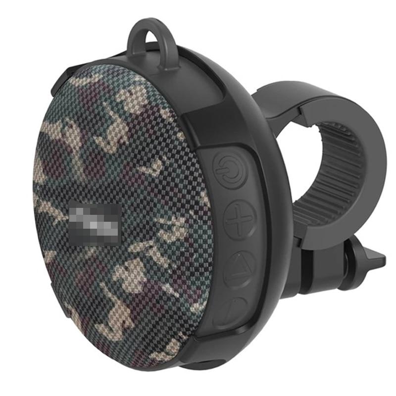 Bluetooth Speaker Subwoofer+Bike Mount 3D Stereo Loudspeaker Shower Portable Outdoor Hands Free IPX7 Waterproof Mini Boombox