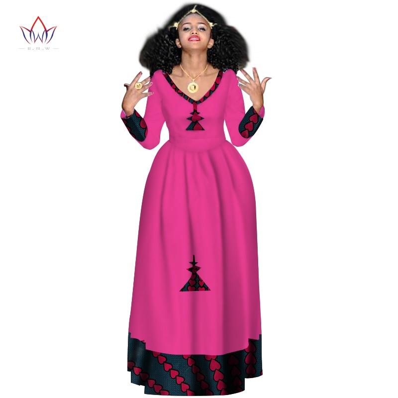 Dashiki-vestidos africanos de fiesta para mujer, ropa de noche larga de estilo...