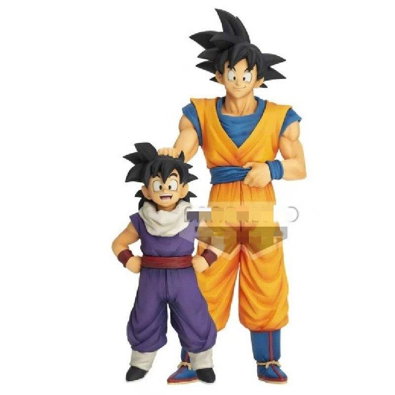 Anime Figure Dragon Ball Son Goku Son Gohan PVC Toys PVC Model DBZ Dragonball Collector Action Figurals Doll Figma Brinquedos