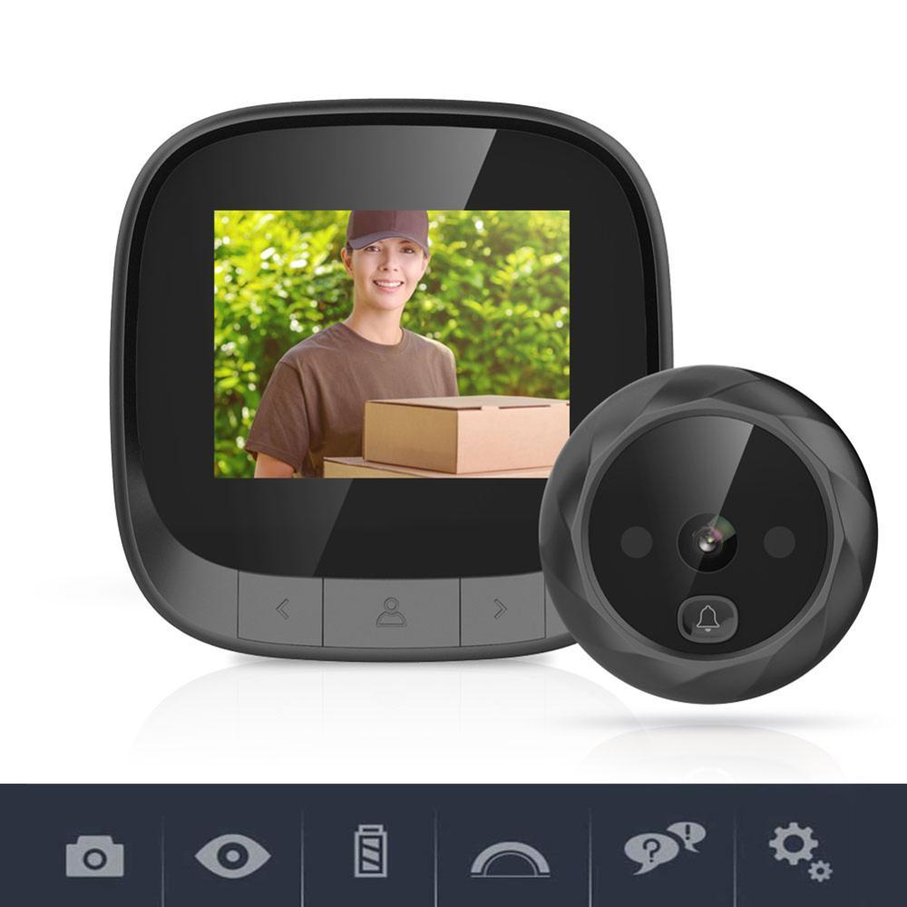 Simple installation Smart Doorbell Low Power Consumption Security Camera Wireless Call Intercom Video-Eye Door Ring enlarge