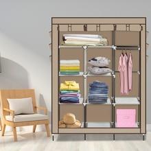 4-schicht 10 Gitter Schrank Kleidung Schrank Lagerung Organizer Hohe Menge Legierung Rack Halter Für Wohnung Für Schlafzimmer Lagerung