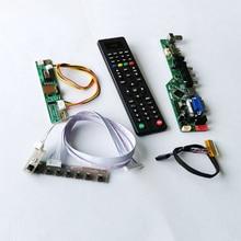 """صالح B150XG01/B150XG07 1CCFL الصوت HDMI VGA USB عن بعد 1024*768 15 """"أجهزة الكمبيوتر المحمولة لوحة 30 دبابيس LVDS شاشة الكريستال السائل بطاقة وحدة التحكم لتقوم بها بنفسك عدة"""