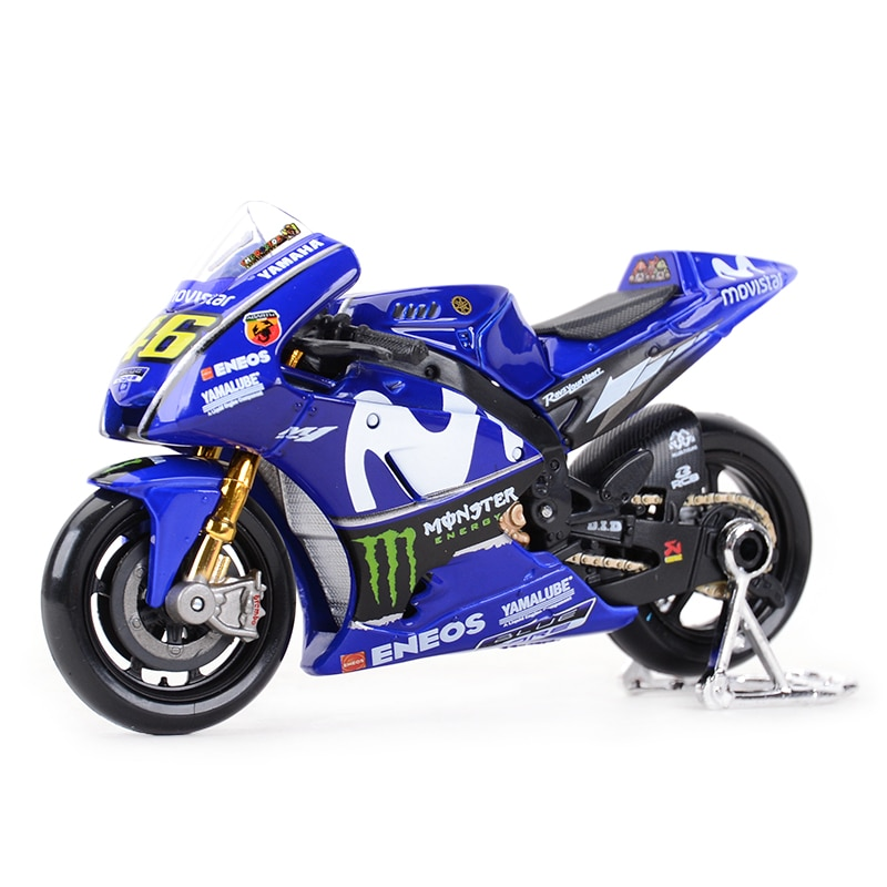 AliExpress - Maisto 1:18 2018 GP Racing Yamaha YZR M1 Factory Racing Team 46# 25# Die Cast Vehicles Collectible Motorcycle Model Toys
