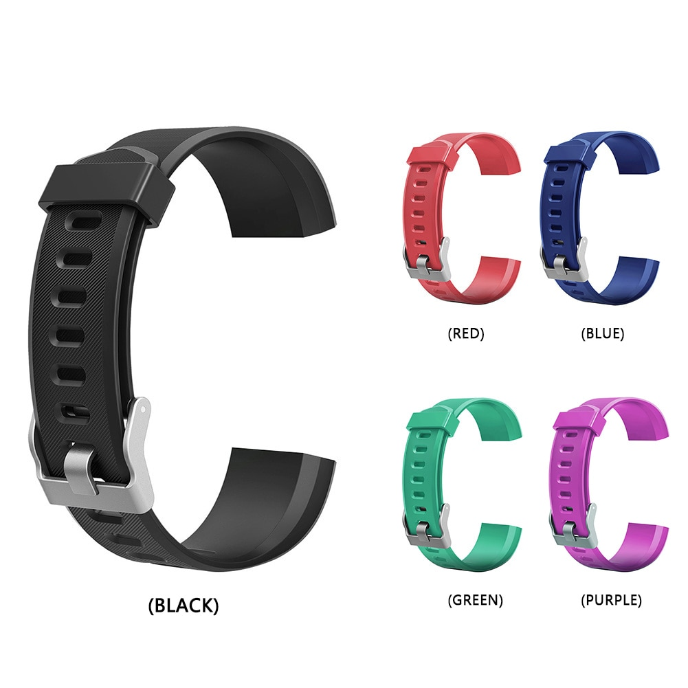 Colorful Watchband Replacement Accessory for ID115Plus HR Smart Watch Colorful Watch Strap Wearable Devices Smart Accessories