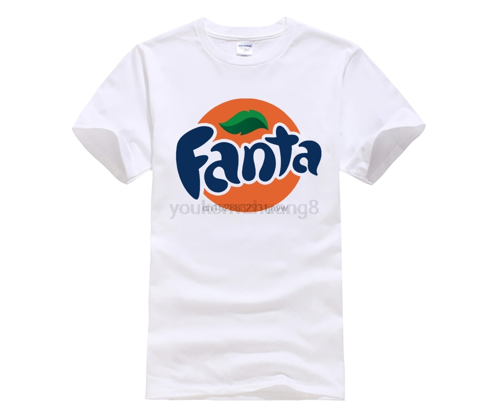 Горячие предложения, футболка, Новое поступление, футболка, Bandit Fanta Orange Soda Pop Drink, Классическая футболка, забавная повседневная одежда